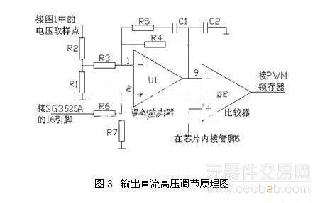 cd4011bc及外围器件组成,将信号abc逻辑组合成逆变桥所需要的驱动脉冲