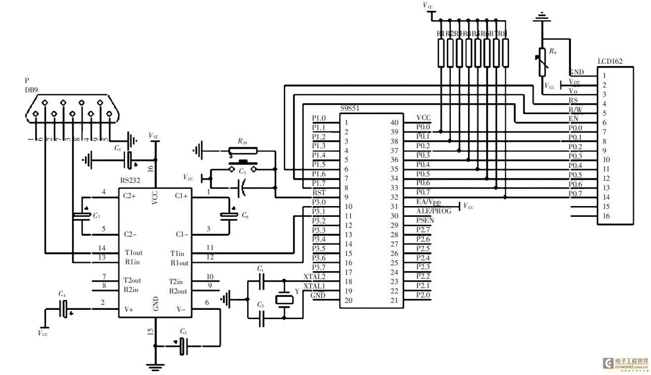 解决方案 > 正文      2 硬件电路设计   系统硬件电路主要有液晶显示