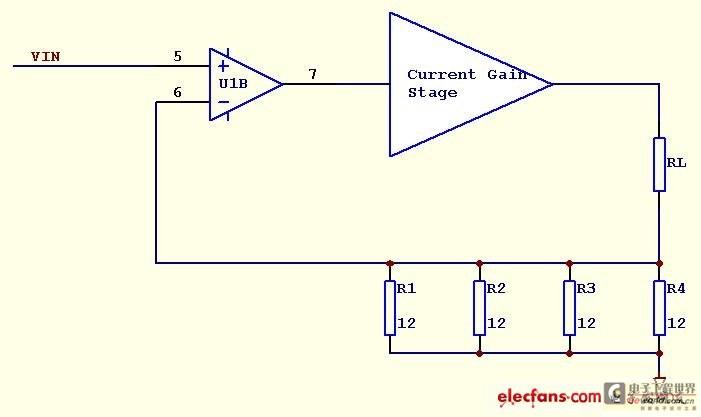 电流源设计小tips(一):如何选择合适的运放