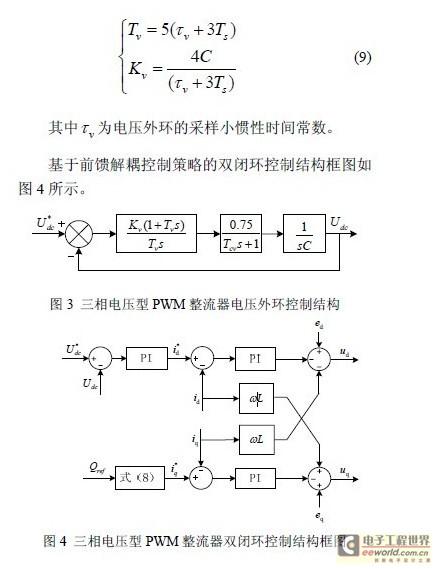 三相电压型pwm整流器前馈解耦控制策略