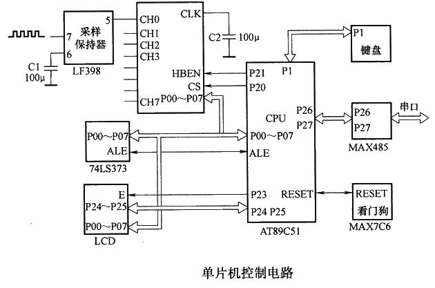 单片机控制电路 - 解决方案