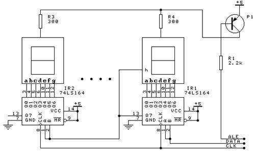 595单片机接口电路图