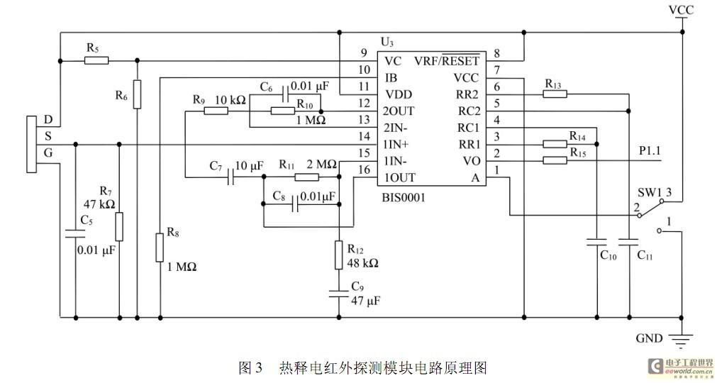 所以ds18b20 的外围电路简单,图4 是该系统的测温模块的电路原理图.